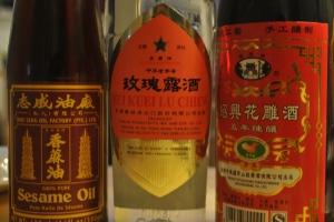 Marinate for roasted pork belly - Sesame oil, Mei Gui Lu, Shao Xing Hua Tiao Jiu