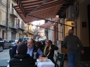Palermo eating out